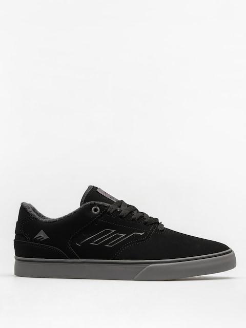 Emerica Shoes The Reynolds Low Vulc (black/grey)