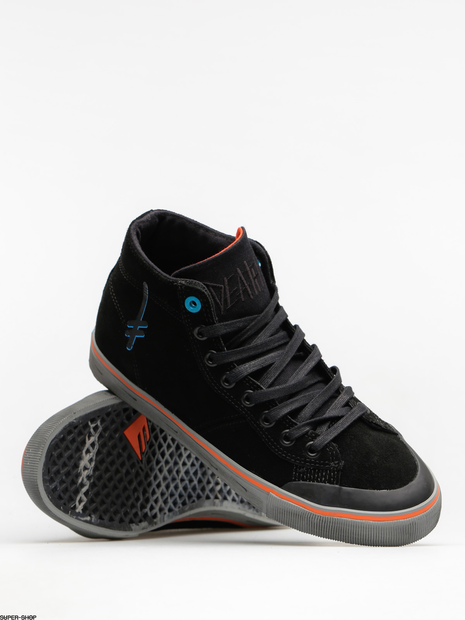 250f5e0396 Emerica Shoes Indicator High X Deathwish (black)