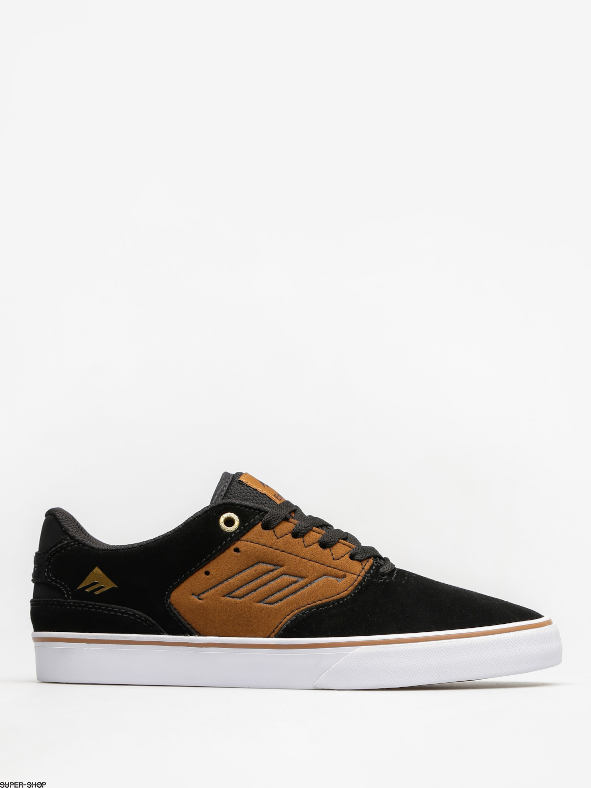 Emerica Shoes The Reynolds Low Vulc (black/tan)