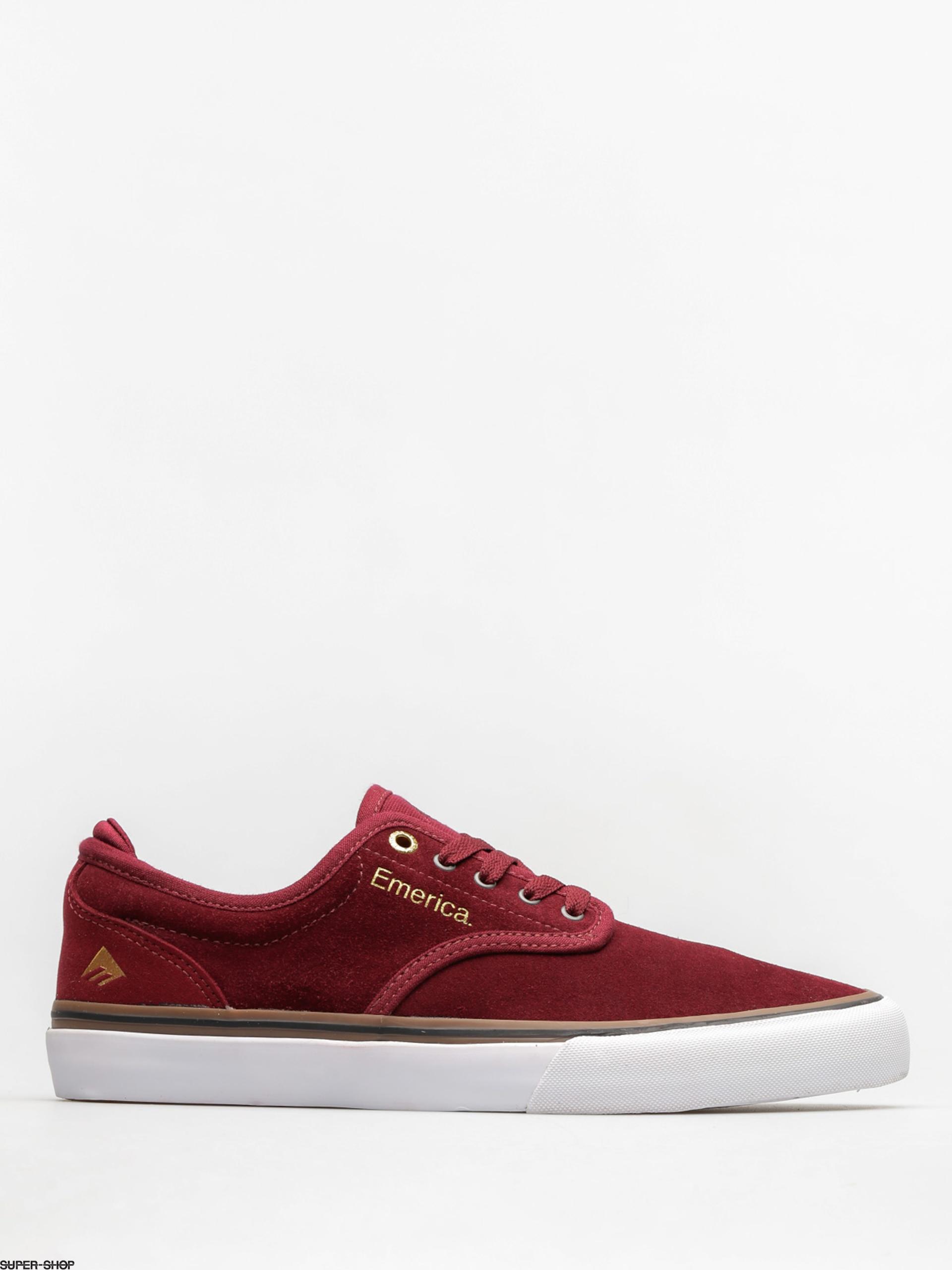 Emerica Shoes Wino G6 (burgundy/white)