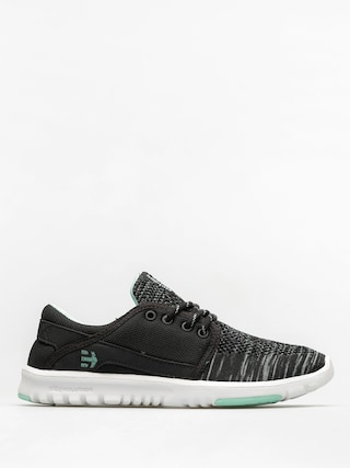 Etnies Shoes Scout Yb Wmn (black/green/white)