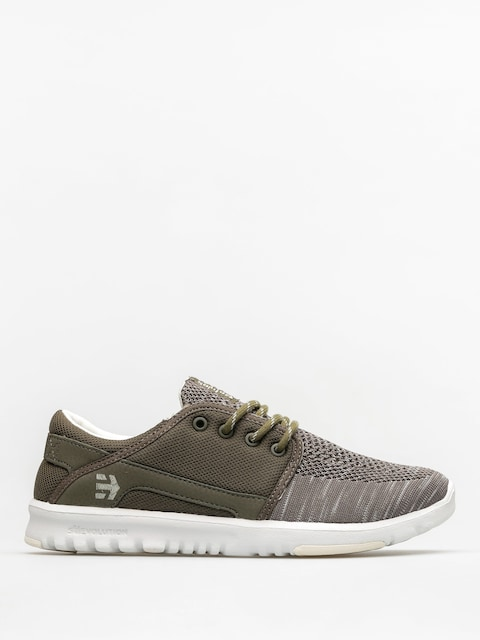 Etnies Shoes Scout Yb Wmn (olive/white)