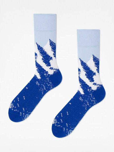 Many Mornings Socken The Hills (blue/white)