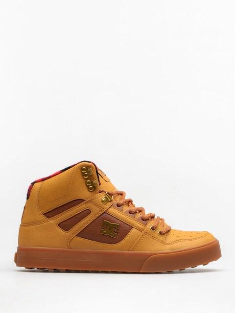 DC Winter shoes Spartan High Wc Wnt (wheat/black/dk chocolate)