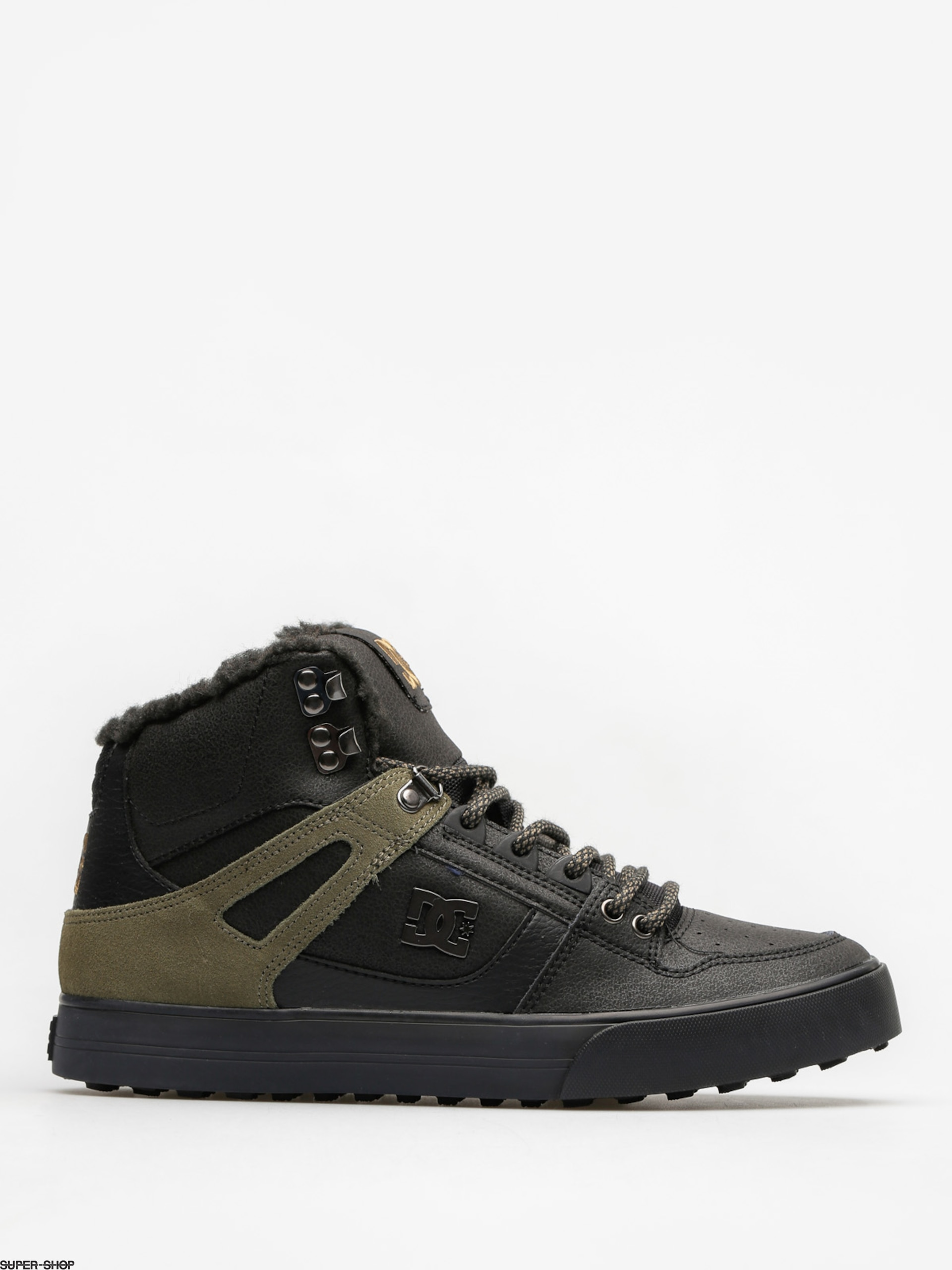 DC Winter shoes Spartan High Wc Wnt (black/olive)