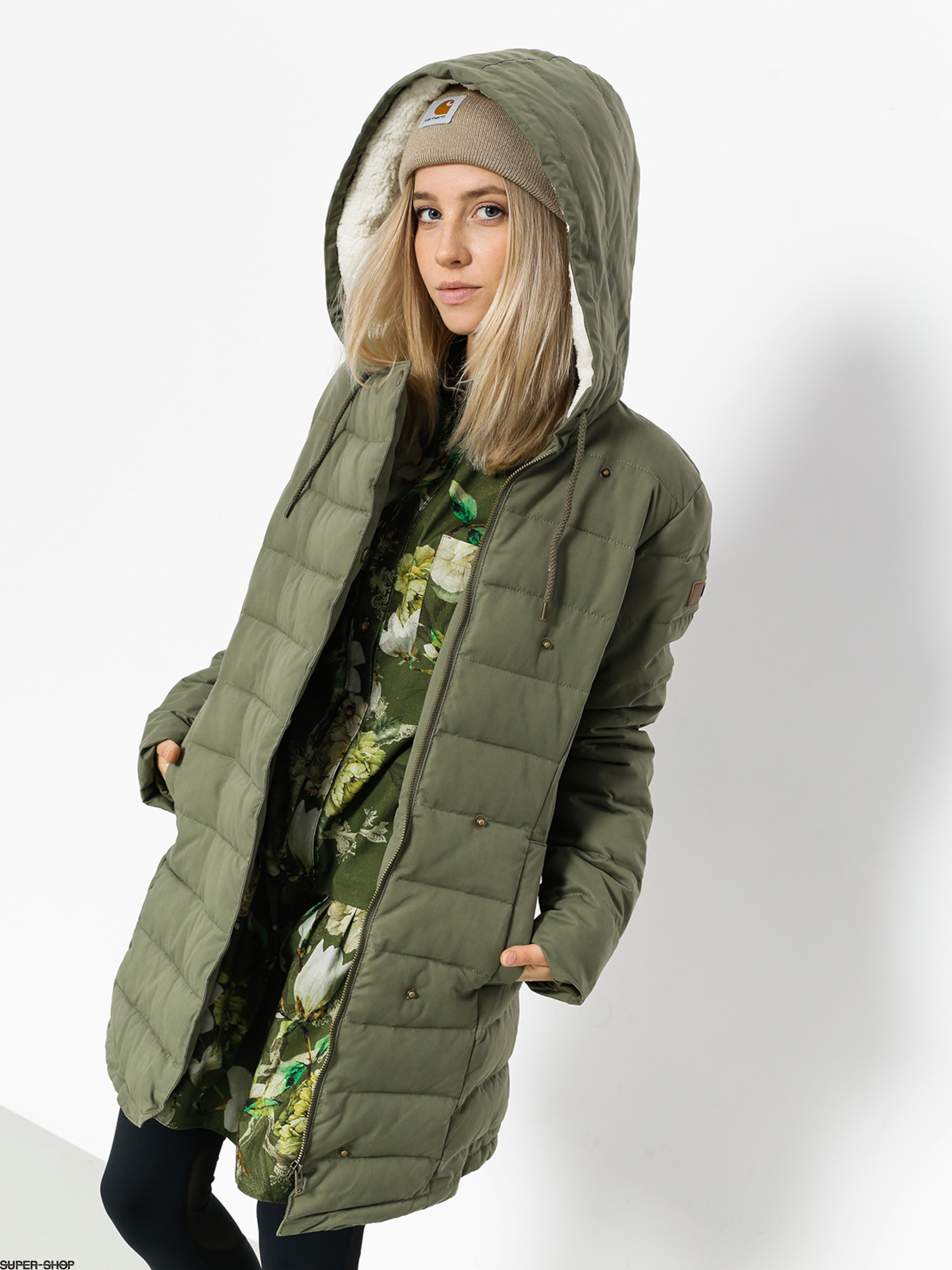 Roxy Jacke Glassy Coast Wmn (dusty olive)