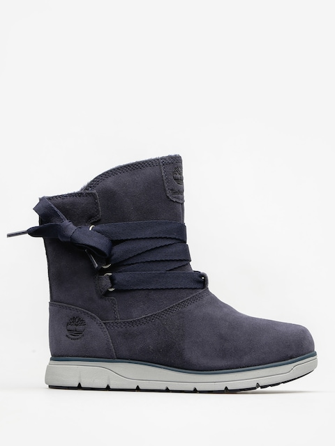 Timberland Shoes Leighland Pull On Wp Wmn (navy suede)