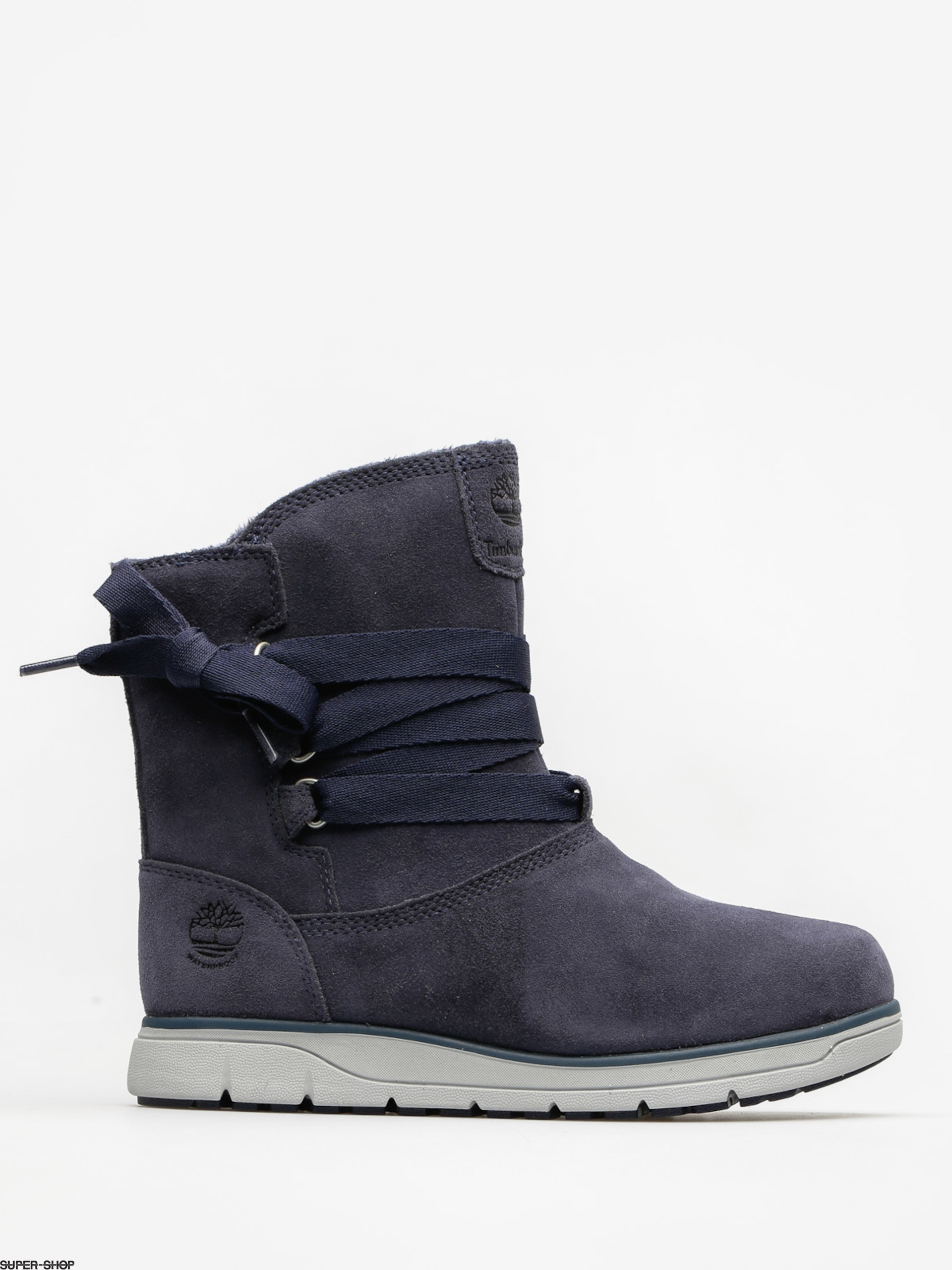 cheaper b8802 bdceb Timberland Schuhe Leighland Pull On Wp Wmn (navy suede)