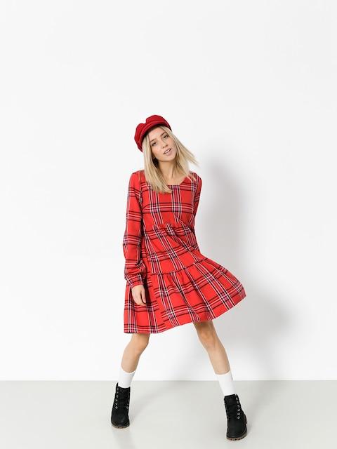 Femi Stories Dress Matia Wmn (pld red)