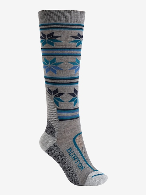 Burton Socks Ultralight Wool Wmn (monument heather)