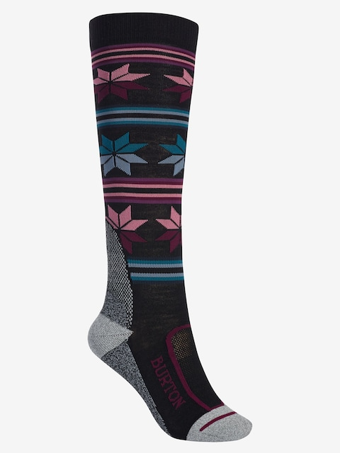 Burton Socks Ultralight Wool Wmn (true black)