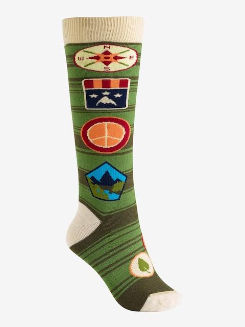 Burton Socken Party Wmn (patches)