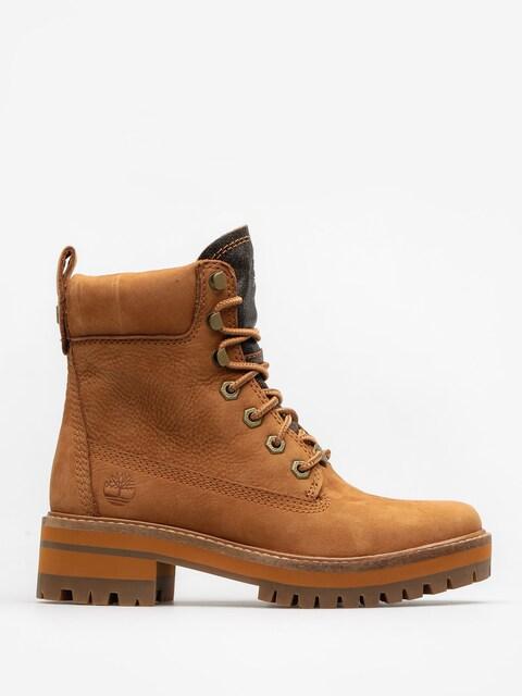 Timberland Shoes Courmayeur Valley Yboot Wmn (rust nubuck)