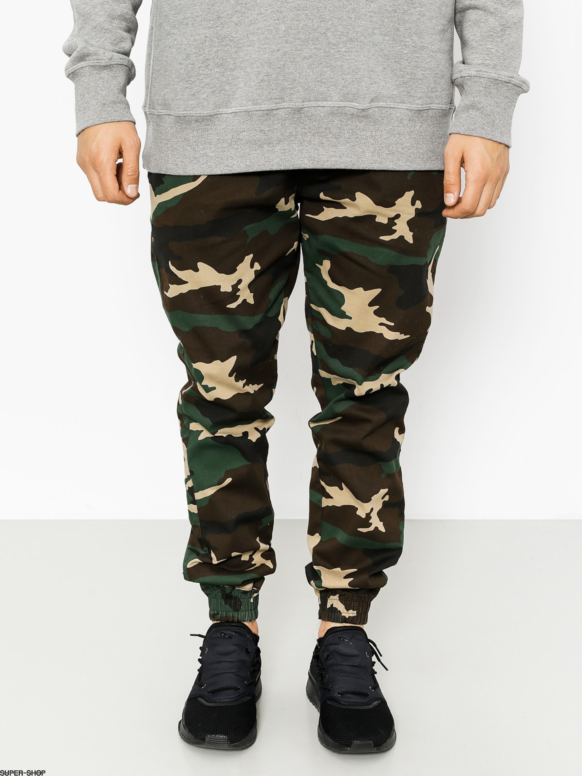 Diamante Wear Pants Rm Classic Jogger (woodland camo)
