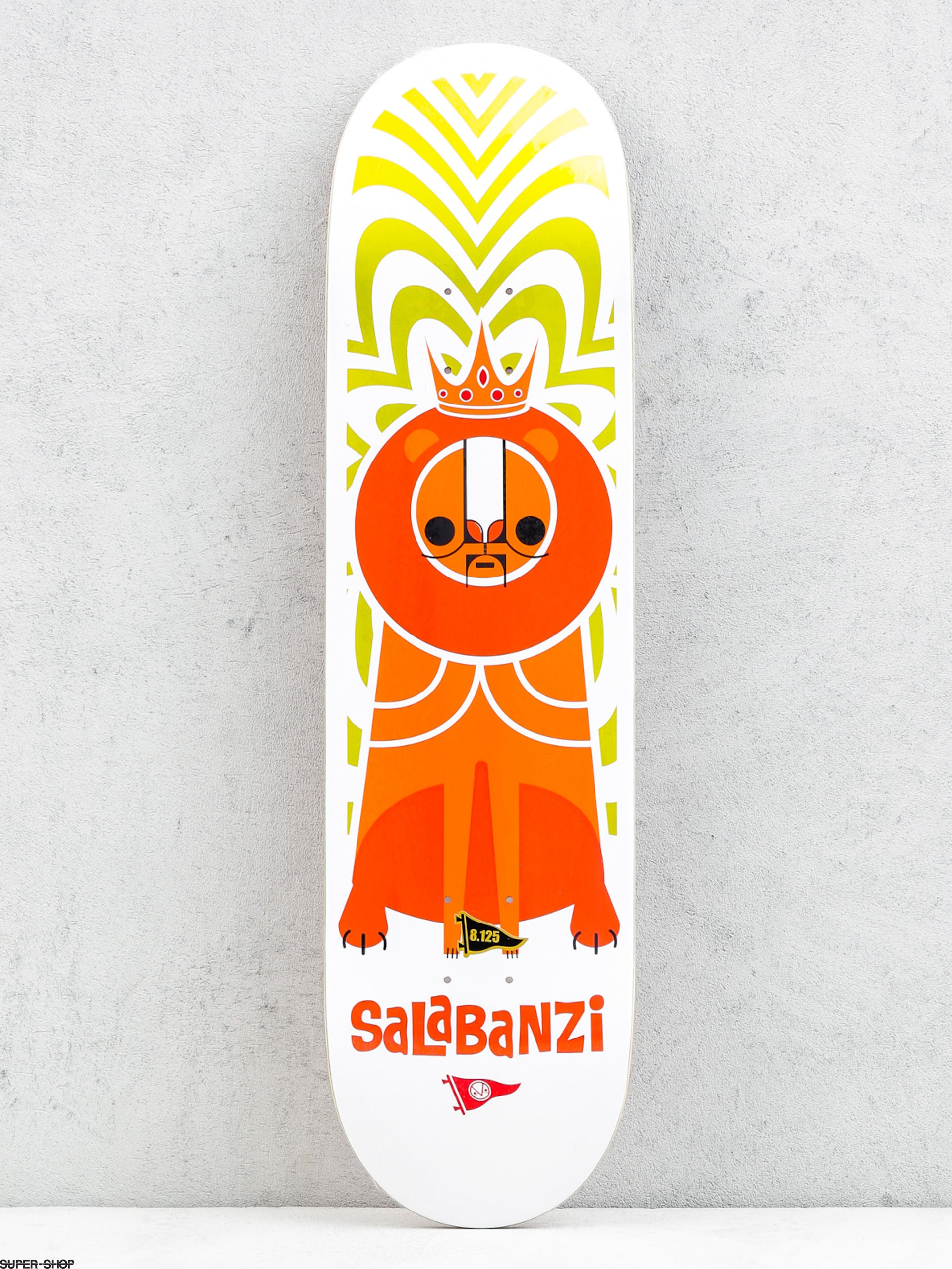 Primitive Deck Salabanzi Pendleton Zoo (white/red)