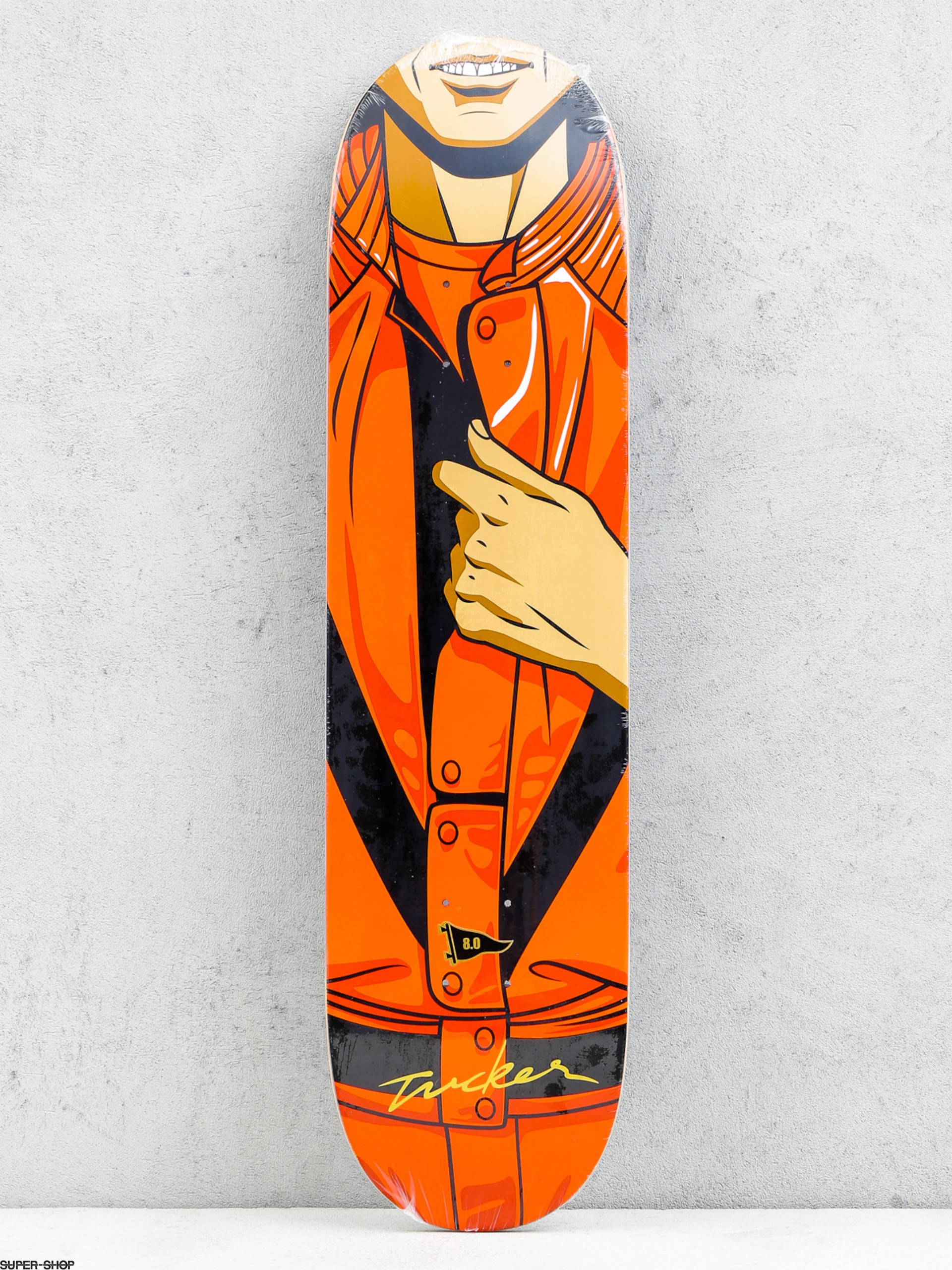 Primitive Deck Tucker King Of Pop (black/red)