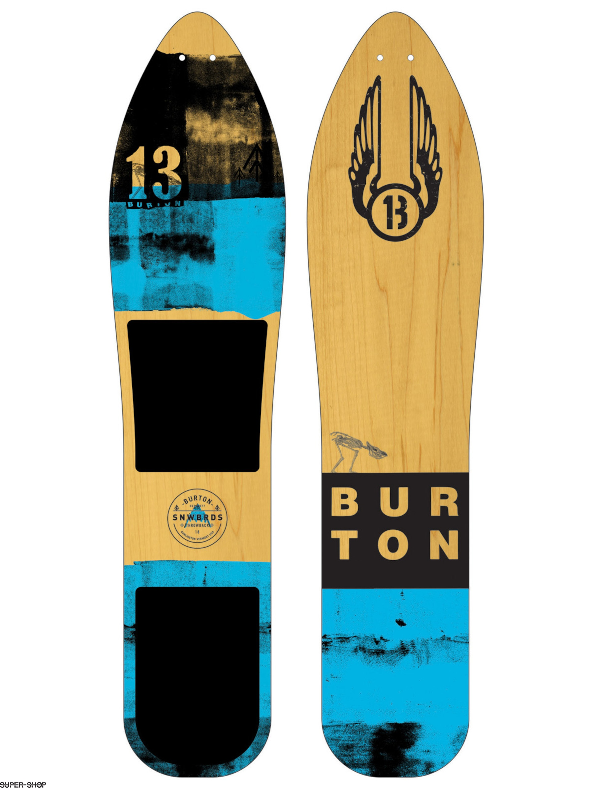 Burton Snowboard The Throwback (multi)