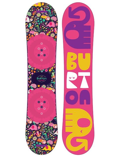 Burton Chicklet (multi) Snowboard für Kinder