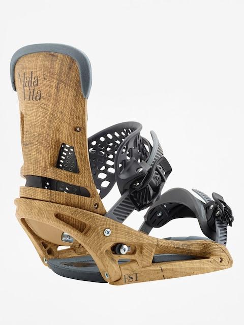 Burton Snowboard bindings Malavita Est (hemp)