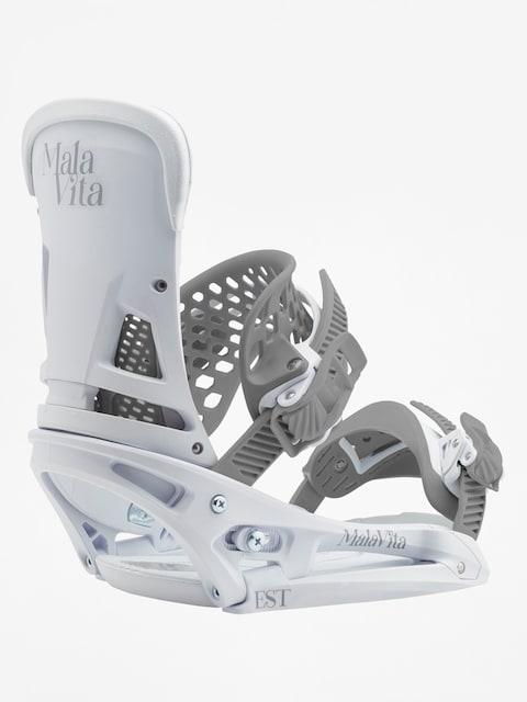 Burton Malavita Est (white rabbit) Snowboardbindung
