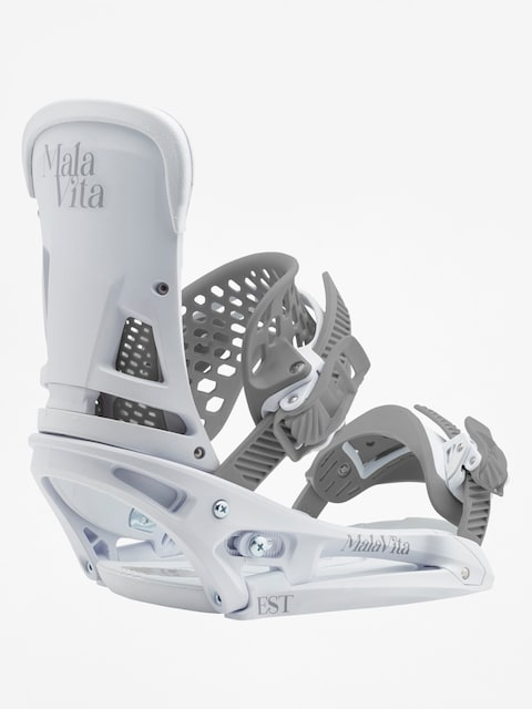 Burton Snowboard bindings Malavita Est (white rabbit)