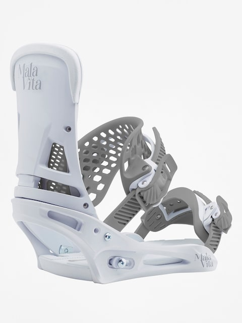 Burton Malavita (white rabbit) Snowboardbindung
