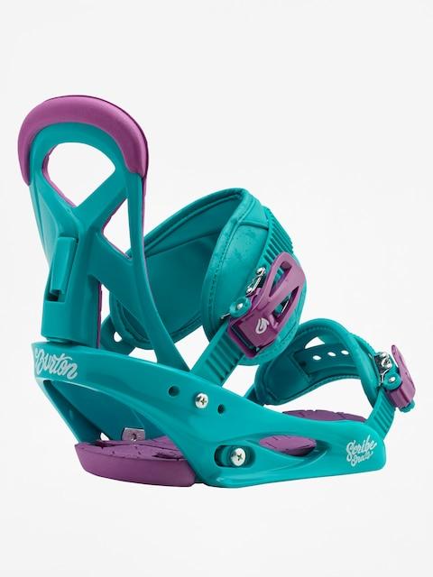 Burton Scribe Smalls (frostberry) Snowboardbindung für Kinder