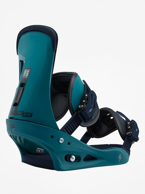 Burton Snowboard bindings Freestyle (mariner green)
