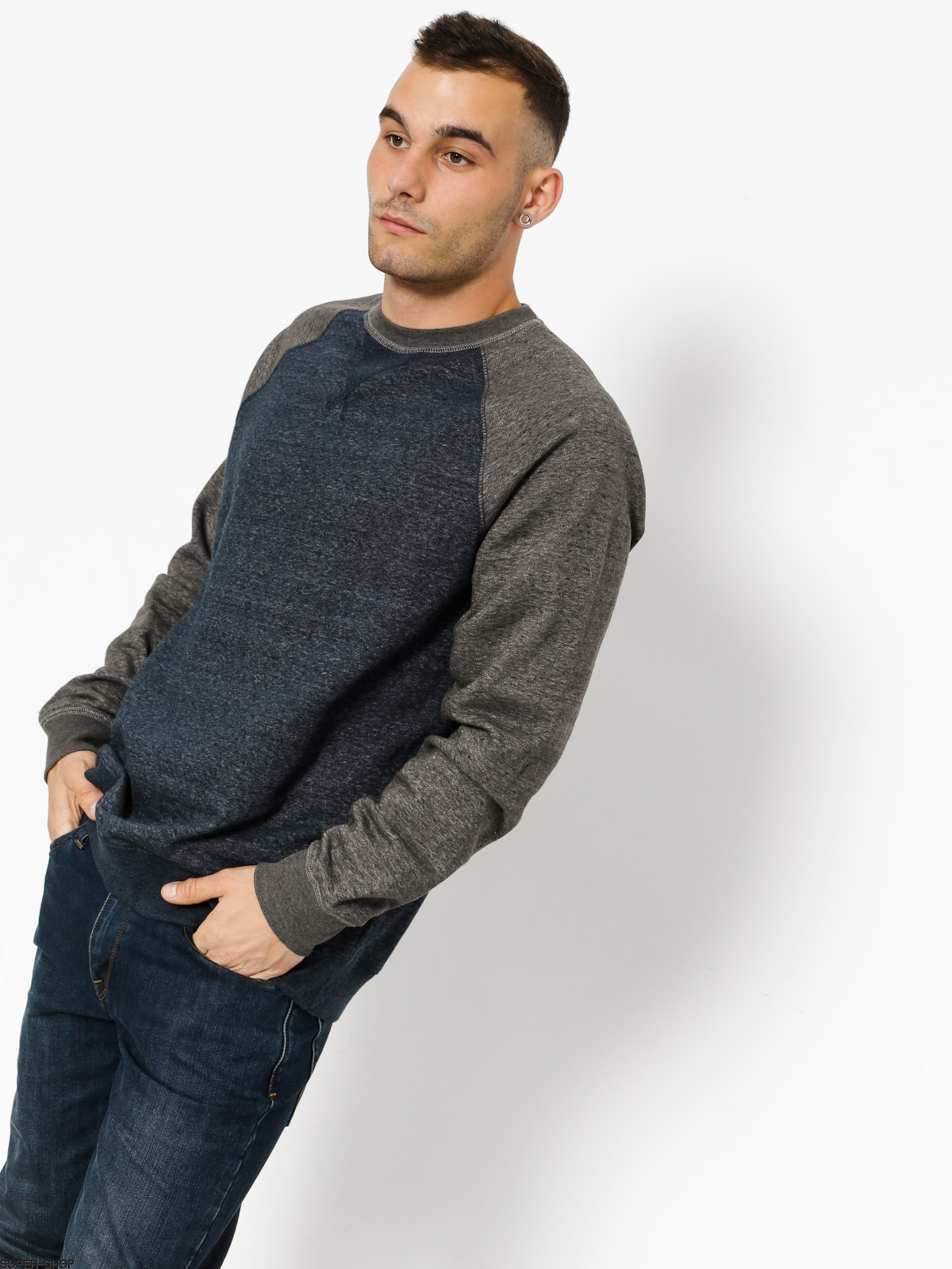 Element Sweatshirt Meridian Block Cr
