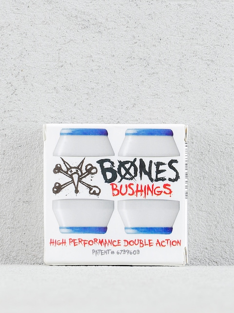 Bones Lenkgummis Hardcore Bushings Soft (white/blue)
