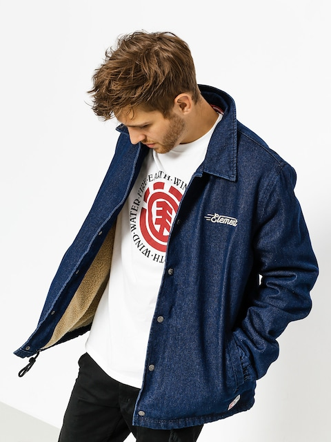 Element Jacke Murray Denim (rigid indigo)