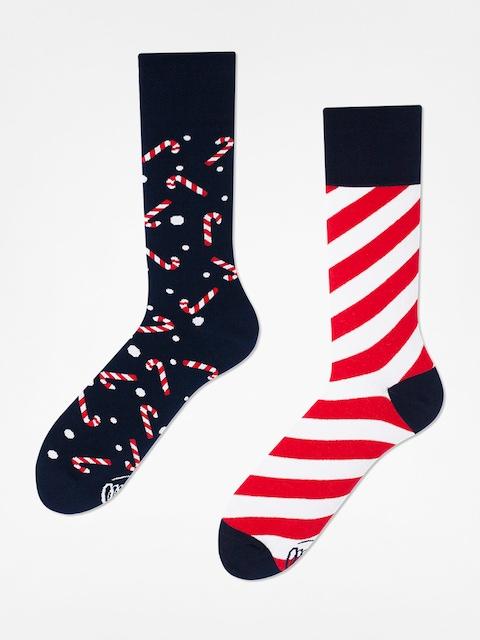 Many Mornings Socks Sweet X Mass (navy/white/red)