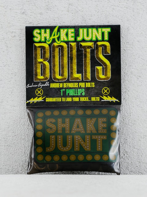 Shake Junt Bolts Andrew Reynolds Phillips (black/gold 1