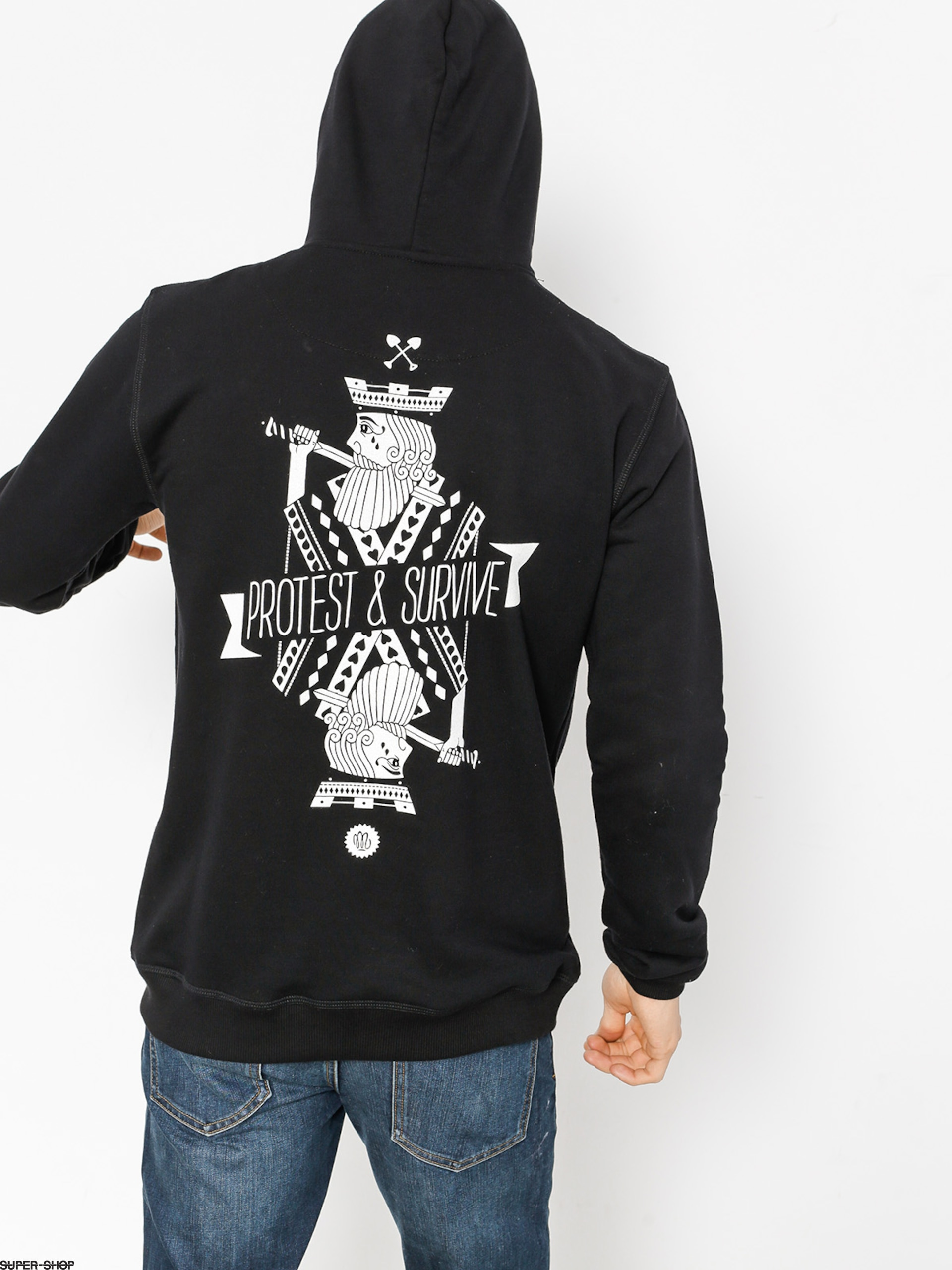 Malita Hoodie King Of Card HD (black)