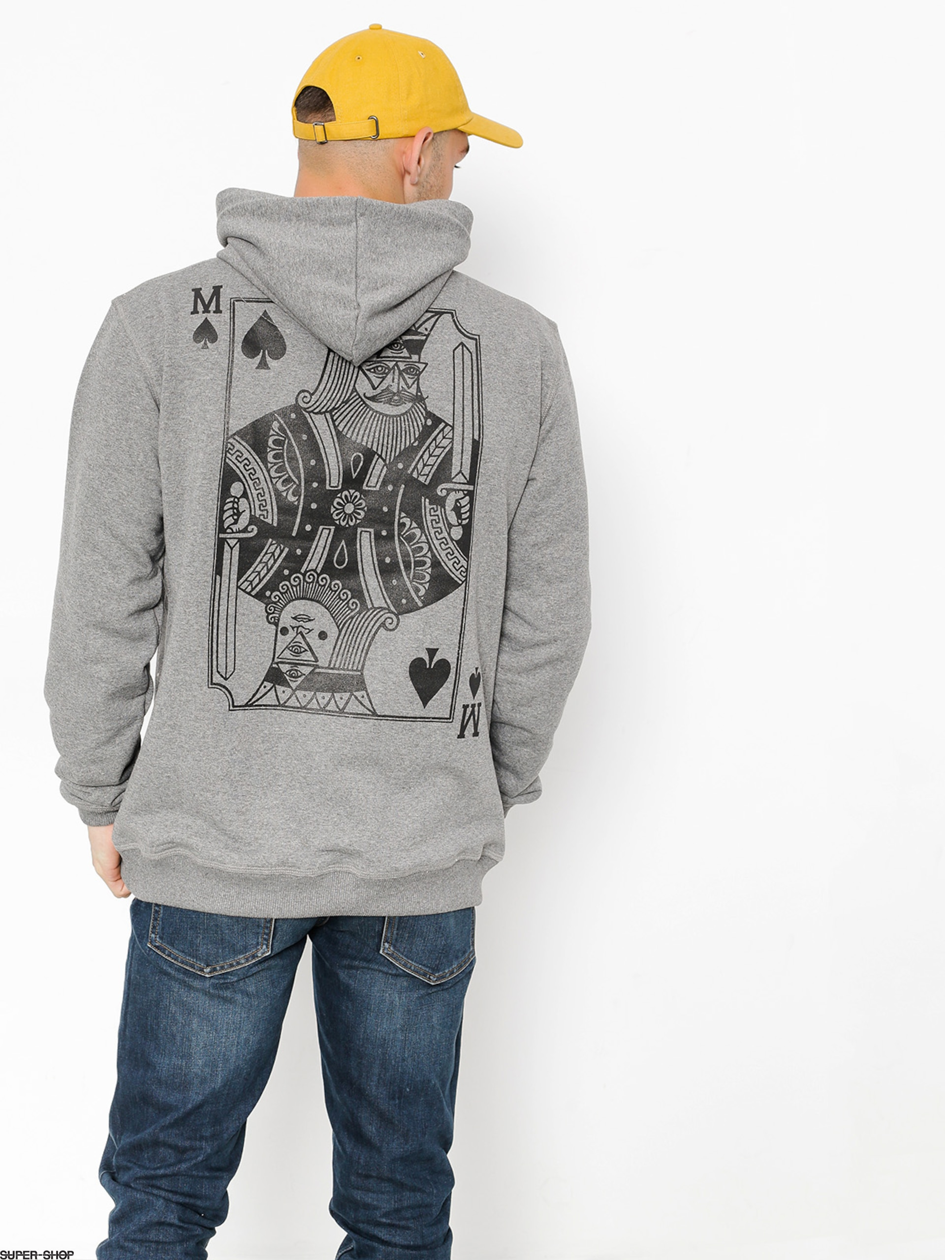 Malita Hoodie Pik HD (heather grey)