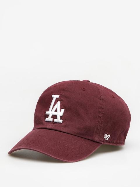 47 Brand Cap Los Angeles Dodgers ZD (dark maroon)
