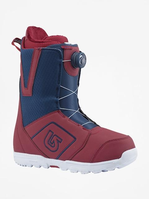 Burton Snowboard boots Moto Boa (maroon/blue)