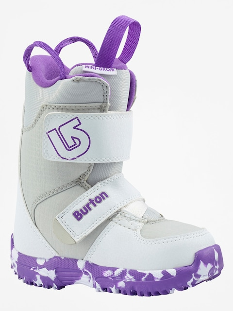 Burton Snowboardschuhe Mini Grom (white/purple)