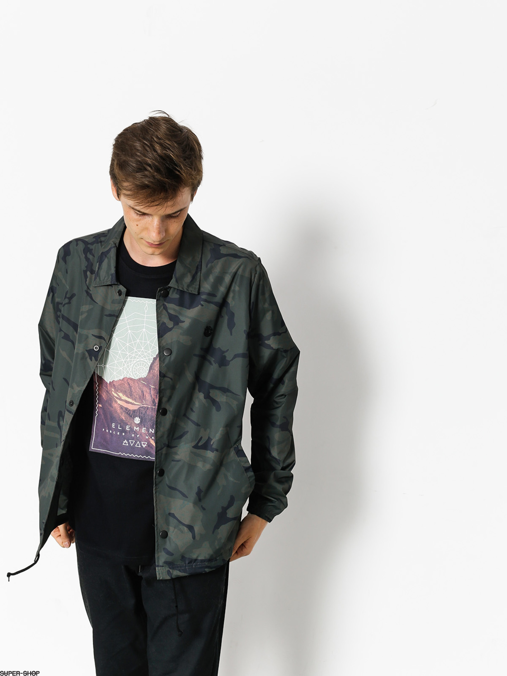 Element Jacket Murray Tw (map camo)