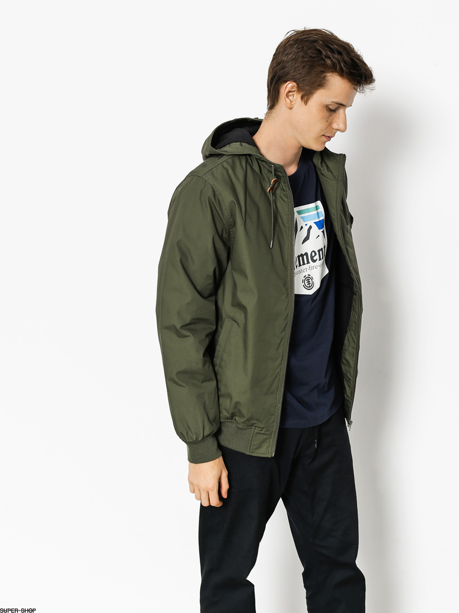 Element Jacke Dulcey (moss green)