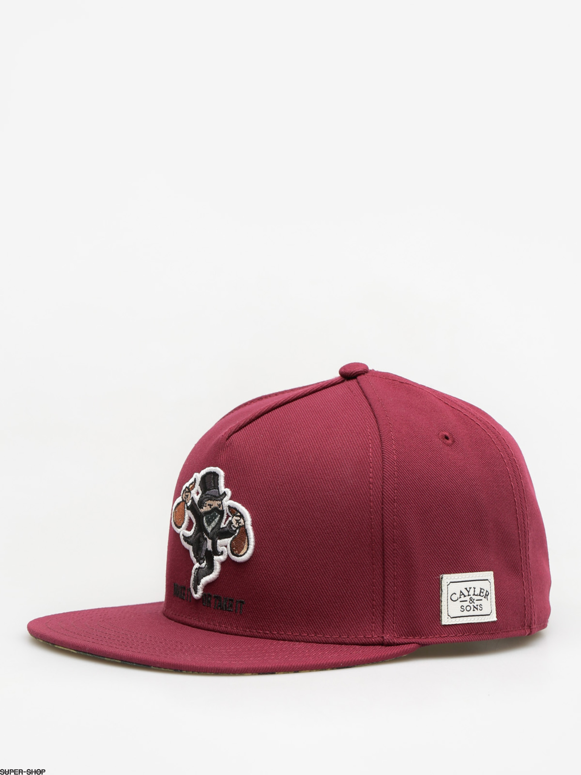 Cayler & Sons Cap Make it ZD (maroon)