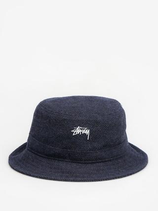 Stussy Hat Textured Wool Bucket Hat (blue)