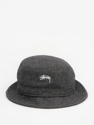 Stussy Hat Textured Wool Bucket Hat (black)