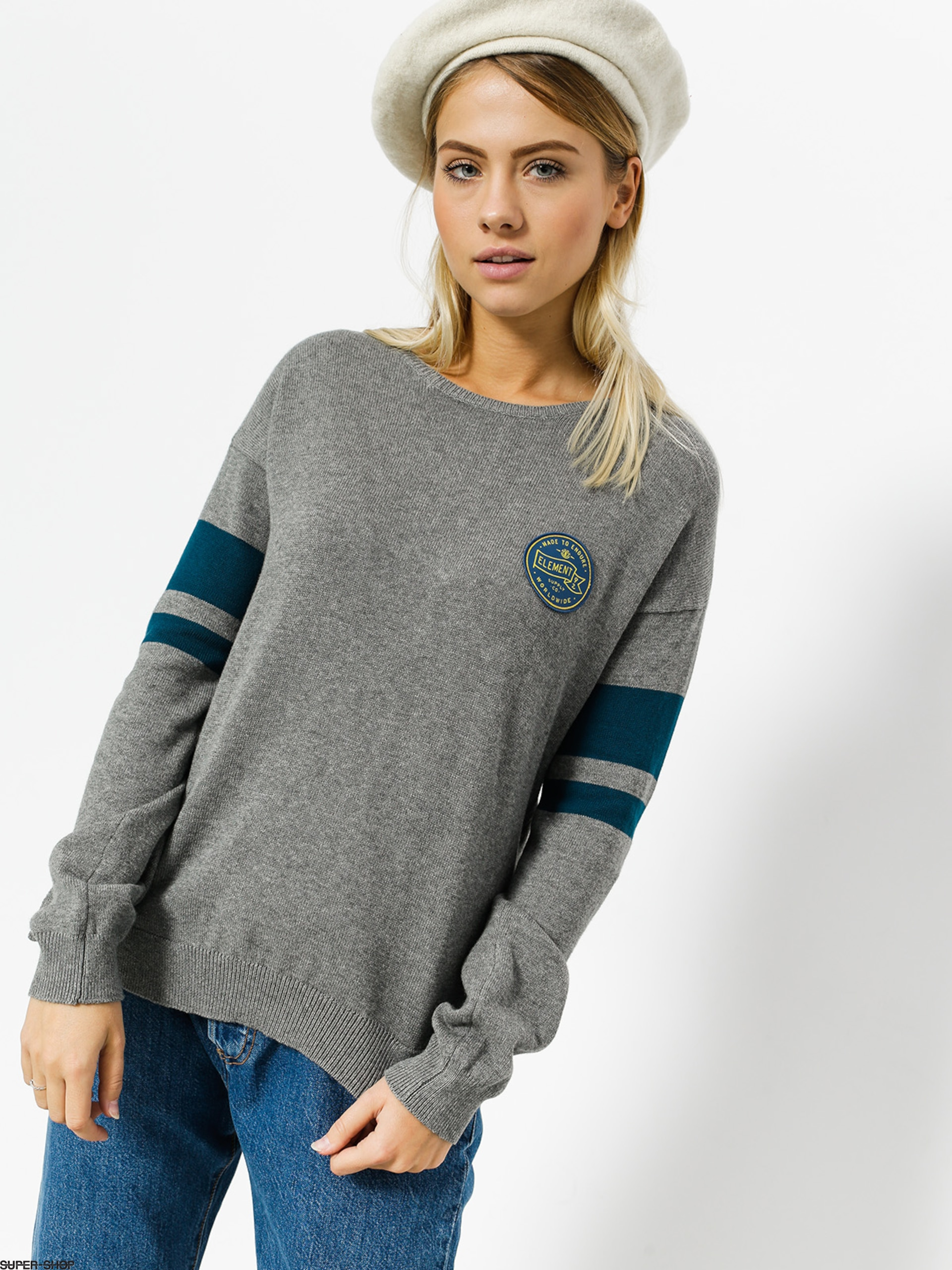 Element Sweater Bell Wmn (grey heather)