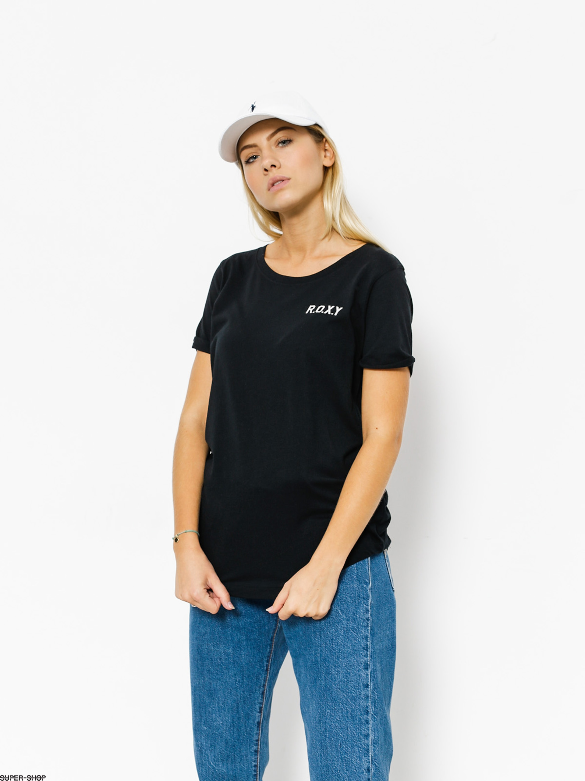 c27938375f47a Roxy T-shirt Electric Feel Wmn (anthracite)
