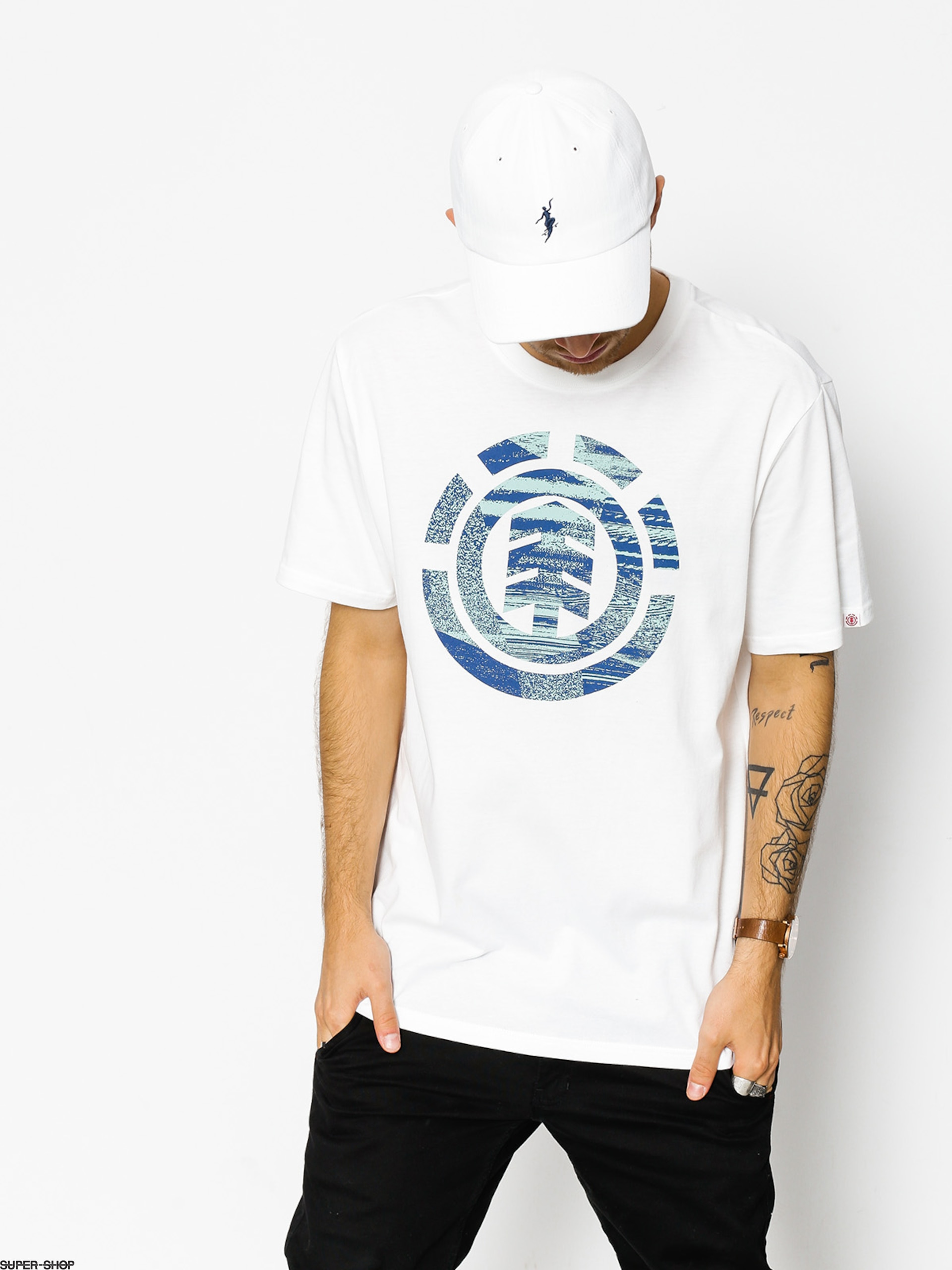 Element T-shirt Aesthetic (optic white)