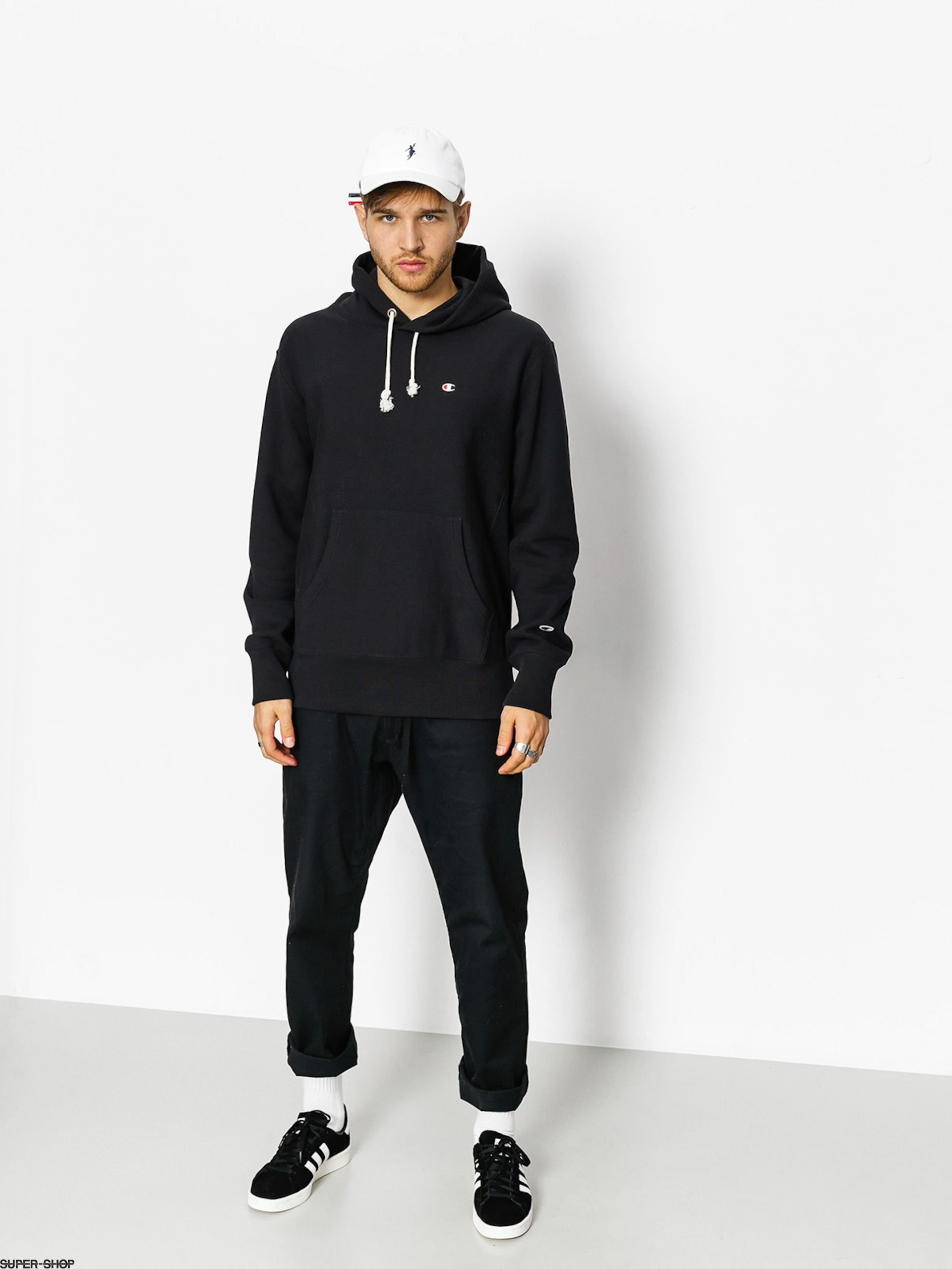 Champion Hoody Reverse Weave Terry 210966 HD (nbk)