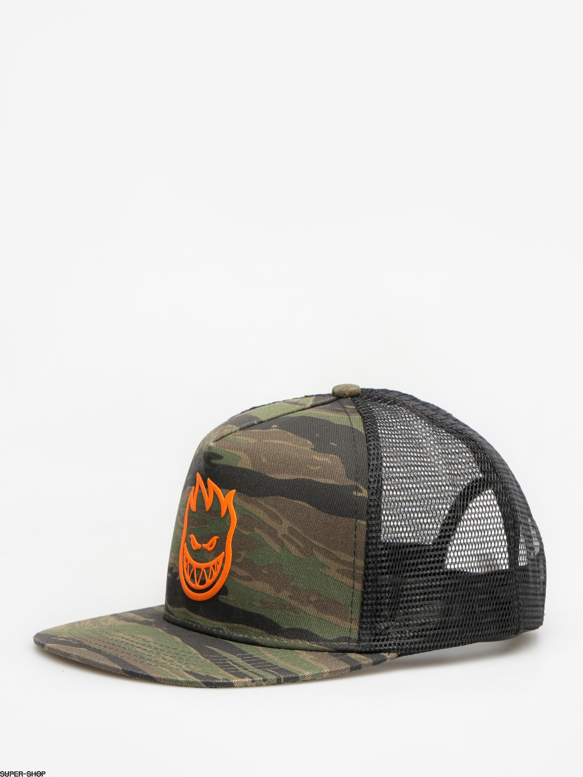 Spitfire Cap Big Head Trucker ZD (camo/orange)