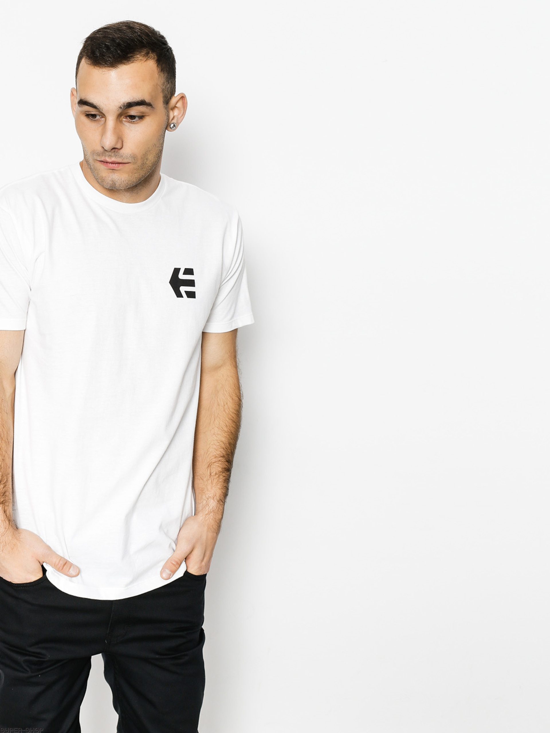 Etnies T-shirt Mini Icon (white/black)