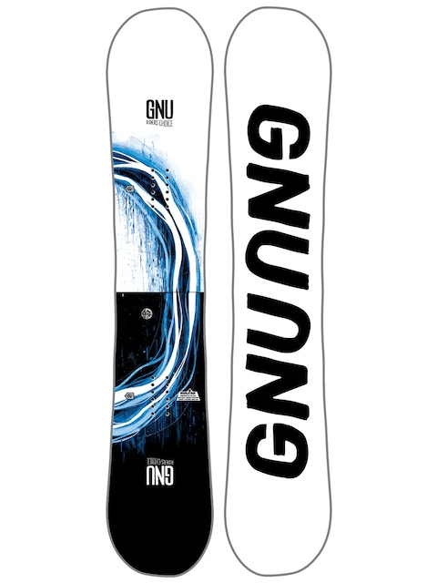 Gnu Snowboard Rider'S Choice C2X Asym (white)